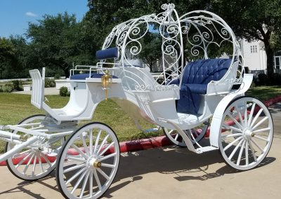 Cinderella Wedding Carriage, Houston Carriage